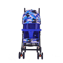 Fancy baby strollers with camouflage canopy/new model baby stroller with 5 point harness and second safety lock