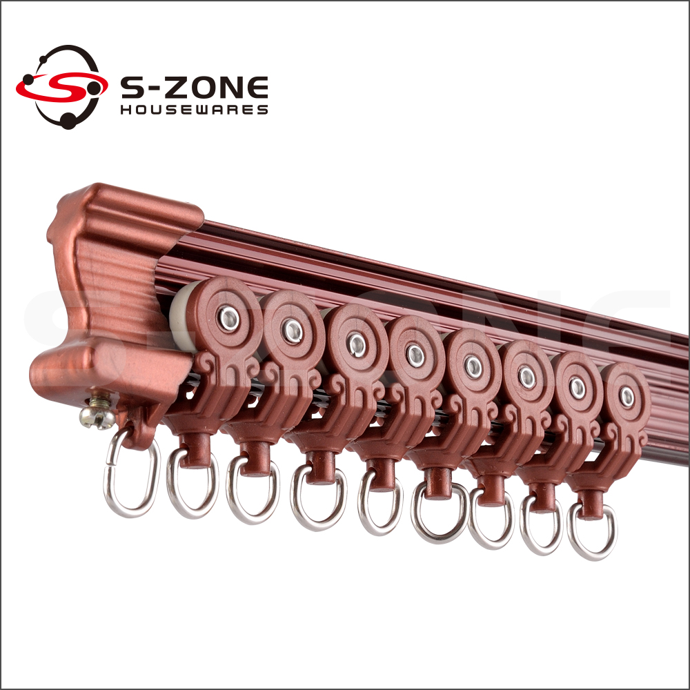 Industrial Mechanical Curtain Pulley Track Rail System