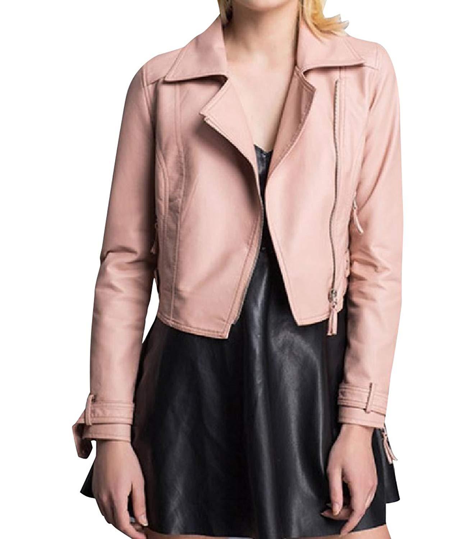 YUNY Women Regular Fit Rock Style Long Sleeve Jacket Trench Coat