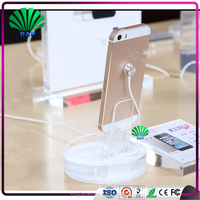 Modern Acrylic cellphone store Display fixture Mobile Phone Display Racks with Lock