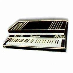 Get Quotations · Rhodes Piano Lapel Pin