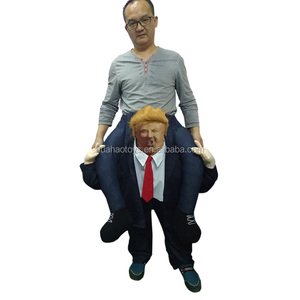 2018 new product custom costumes donald trump mascot costume