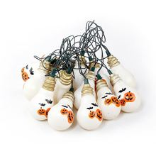 Customization Halloween Party Accessories Fine Design Printing LED Lights