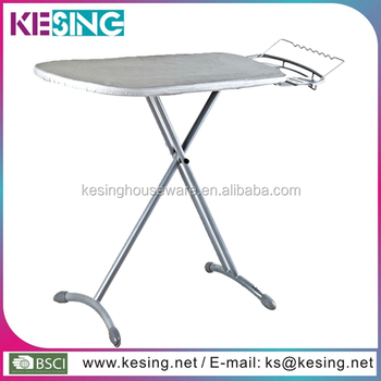 Retractable Foldable Ironing Board With Wheel