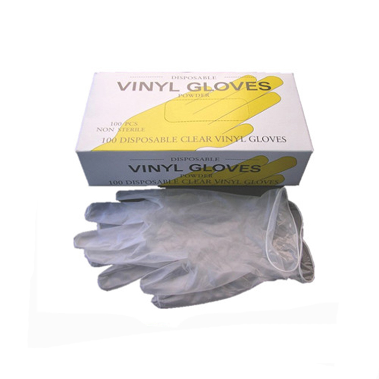 High Quality Disposable Powder Free Metal Detectable Vinyl Gloves