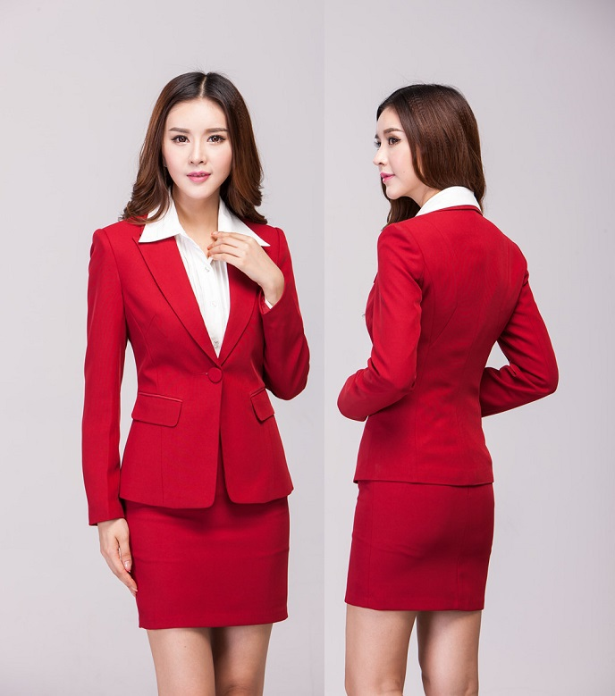 Ladies Red Skirt 71