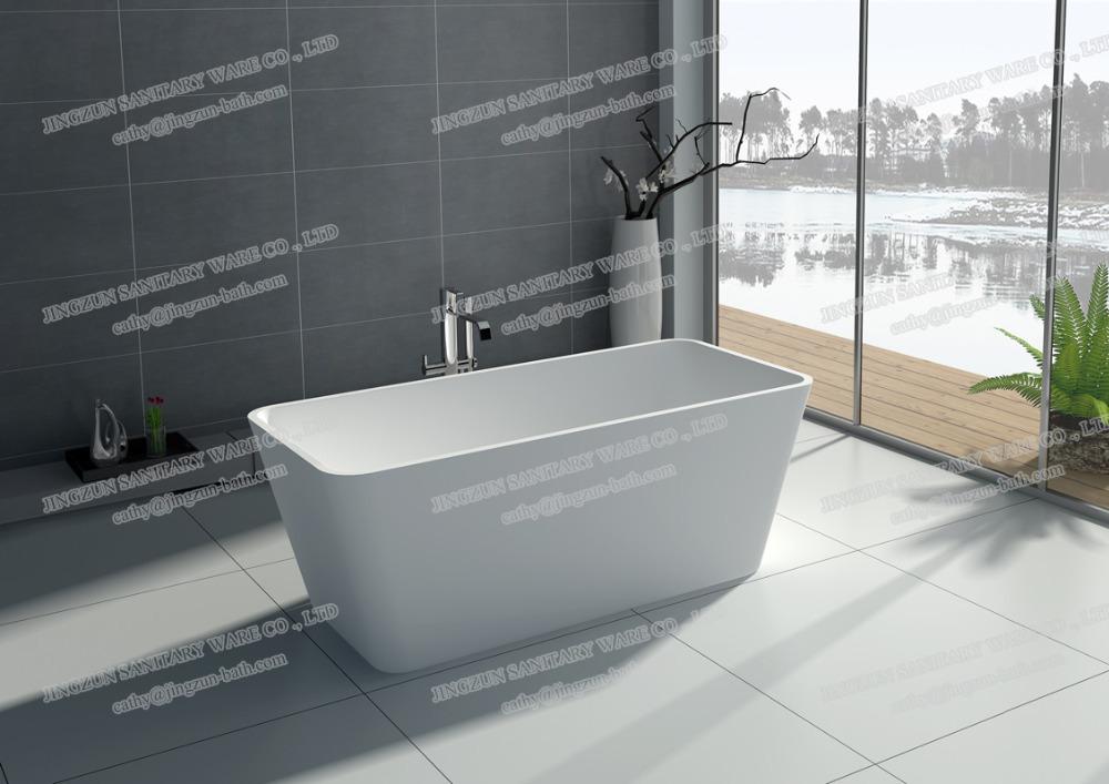 jz8603 cultured autoportante baignoire baignoire carr e dans baignoires et bains remous de. Black Bedroom Furniture Sets. Home Design Ideas