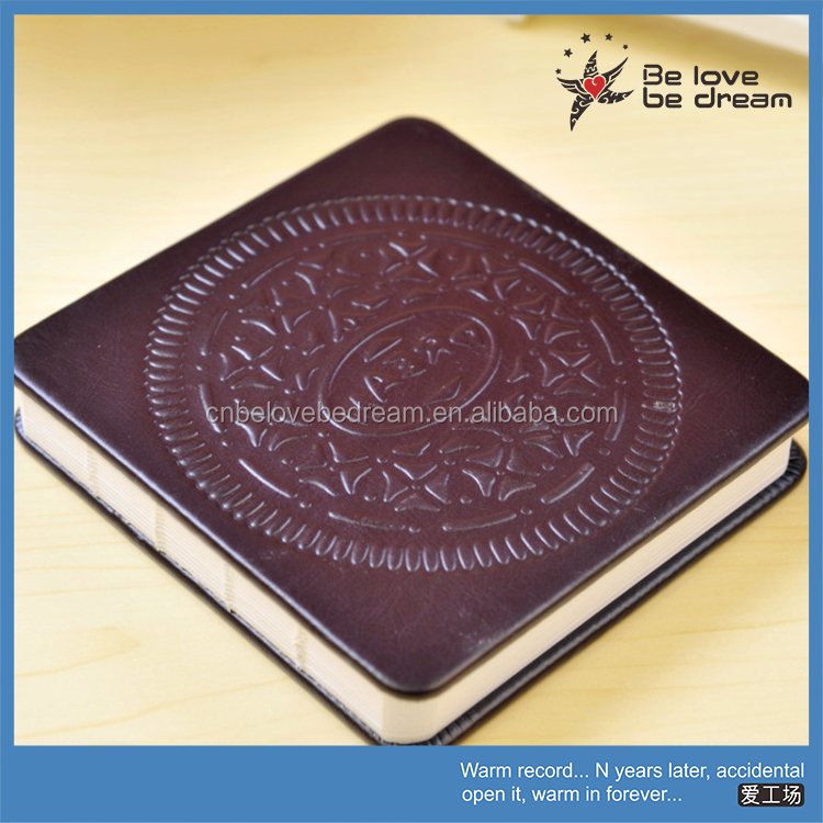 Customized logo print promotional gifts items emboss cover moleskin notebook wholesale