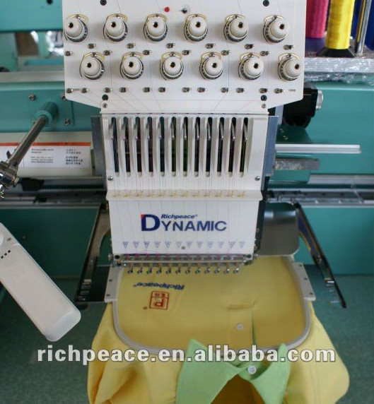 Industrial Digital Computerized Hat Embroidery Machine For Sale