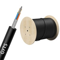 China manufacturers 24 core GYTS G.653 G.654 G.655 armored fiber optic cable types