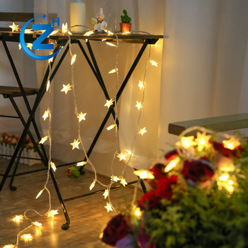 color changing waterproof star shape wedding background holiday street decorative vintage outdoor christmas led light decoration
