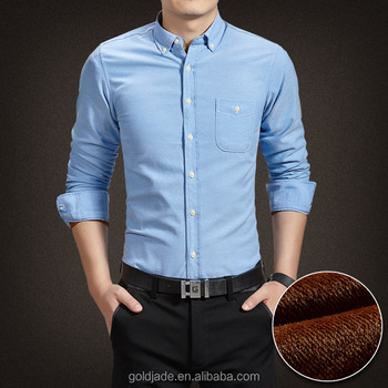 100% Organic Cotton Men Dress Shirts Italian Style Long Sleeve ...