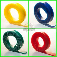 flat shape, v shape silk screen printing squeegee rubber/screen printing squeegee supplier