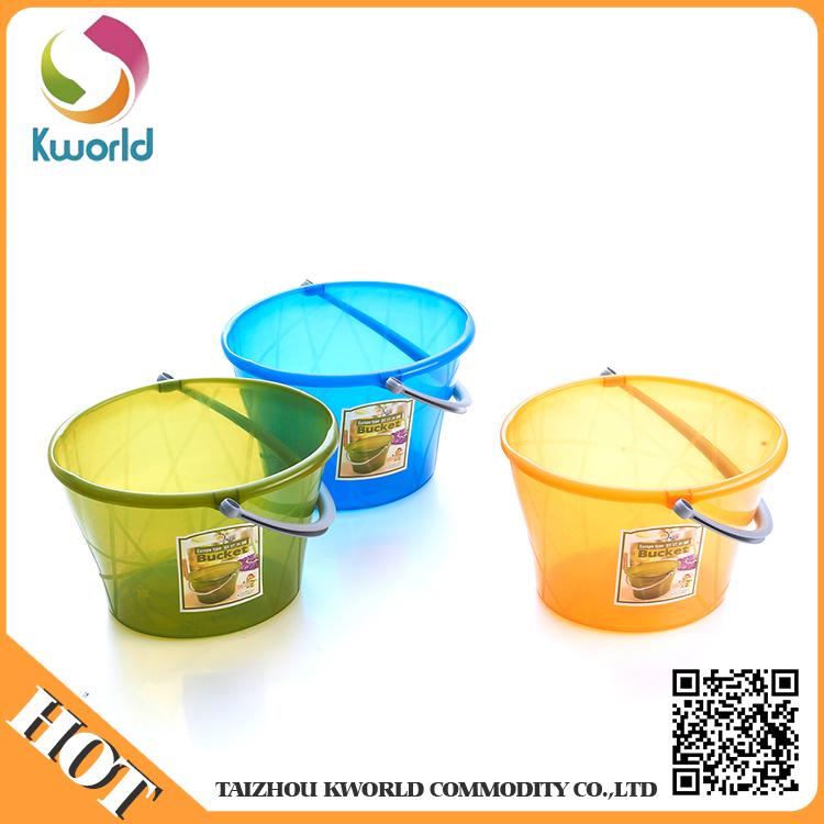 Saplı Yeni Tasarım Özelleştirilmiş Plastik Kova