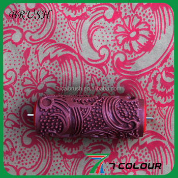 "Pattern Paint Roller 7"" decorating rubber pattern paint roller - buy decorating rubber"