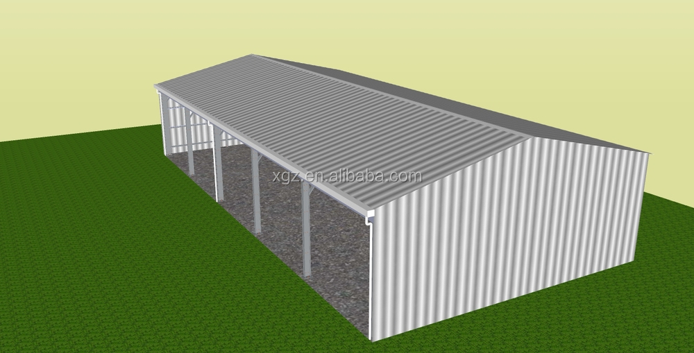 Australia prefabricated barn style sheds machinery shed for AU