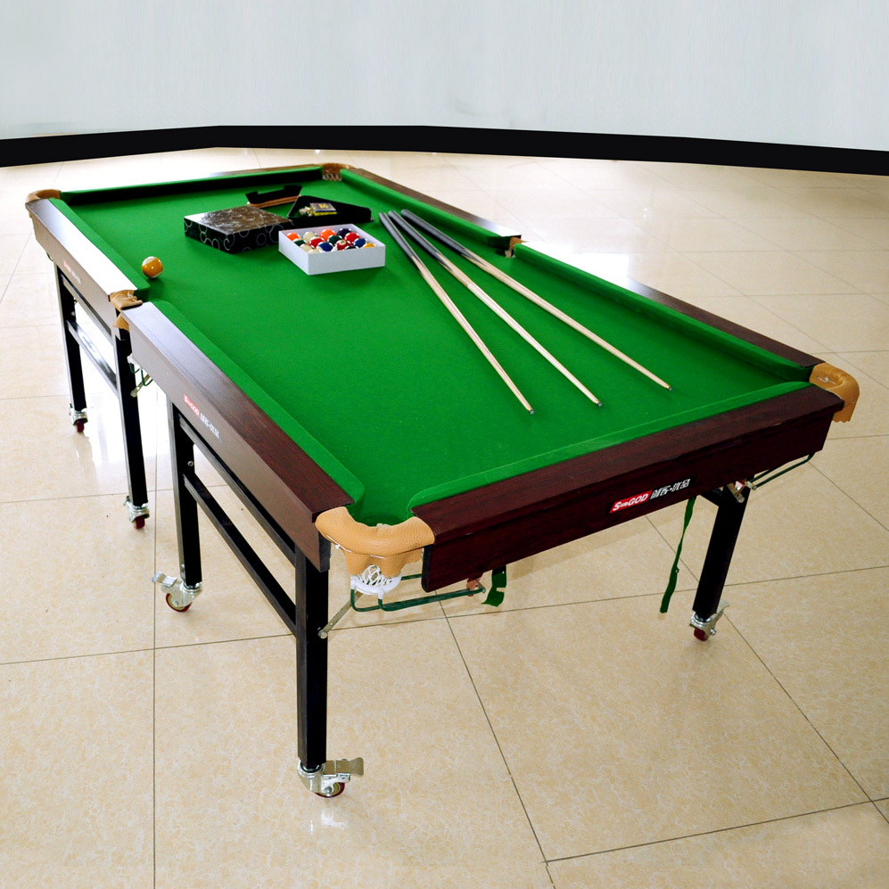 Portable Folding Standard Snooker Tablewheeled Folding