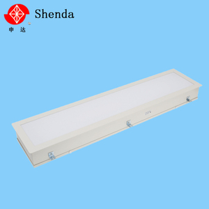 42w led tube or fluorescent ceiling light fixture for pharmaceutical industry