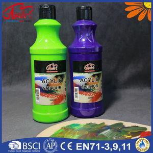 2500ml camel acrylic colours, acrylic paint, acrylic color manufacture,  EN71-3,EN71-9