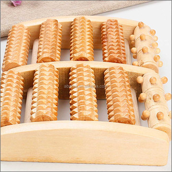 Wooden Acupuncture Foot Massager Stick Roller View Acupuncture Massager Abk Product Details From Abarke Tianjin Technology Co Ltd On