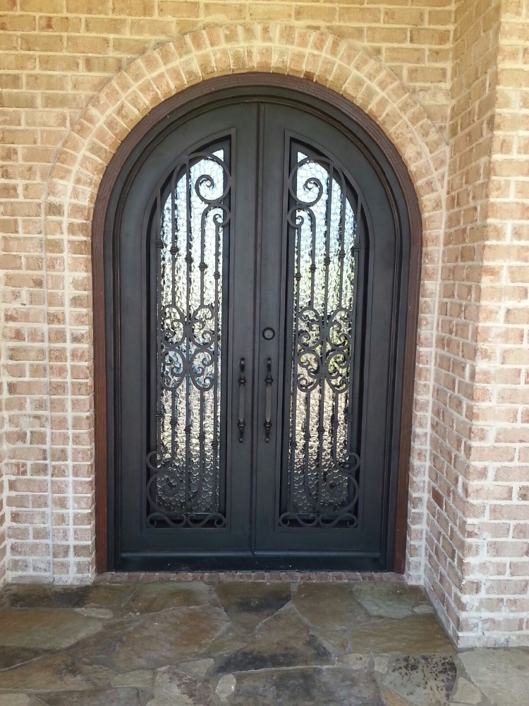 High Quality Exterior Doors Jefferson Door: High Quality Exterior Decorative Used Wrought Iron Gate