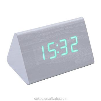 Night light wall clock clock led dhl suqare led clockcube digital night light wall clock clock led dhl suqare led clockcube digital wooden clock aloadofball Images