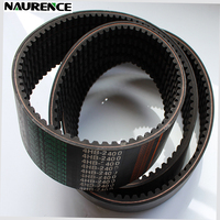 rubber transmission v belts 4HB2400 for rice combine harvester