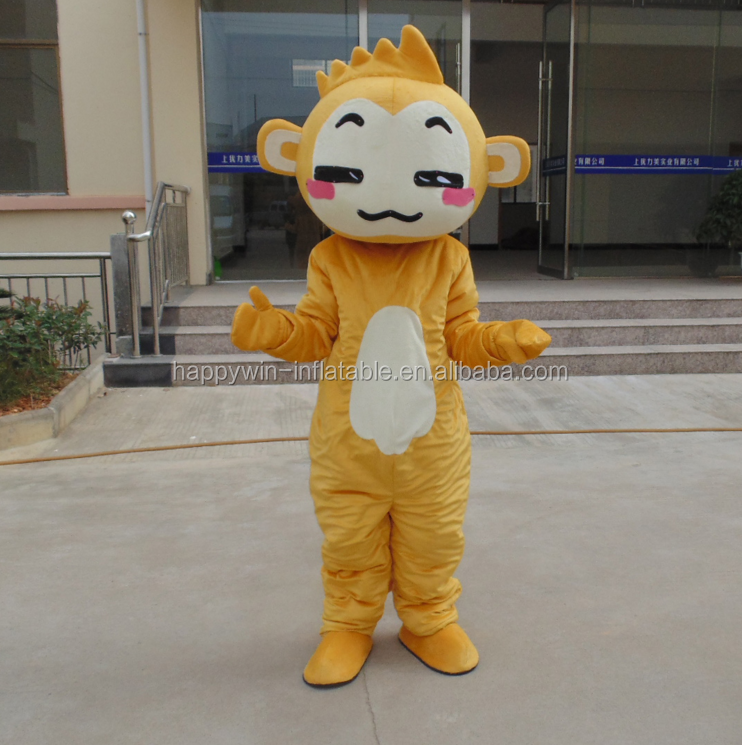 Wholesale online High quality soft plush Naughty brother monkey adults mascot Characters costume for sale