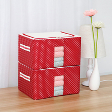 2018 reusable closet organizer foldable storage box, multi-function storage box