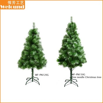 wf pn150g cheap plastic artificial pine needle christmas tree - Small Artificial Christmas Tree