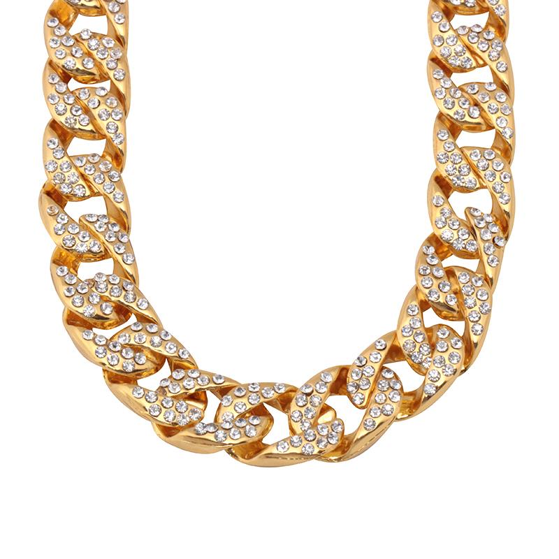 collier or et diamant homme