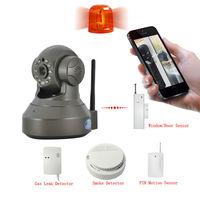 Newest Video Phone Home Security Alarm Wifi P2P ip alarm camera Wireless Plug And Play IP Camera