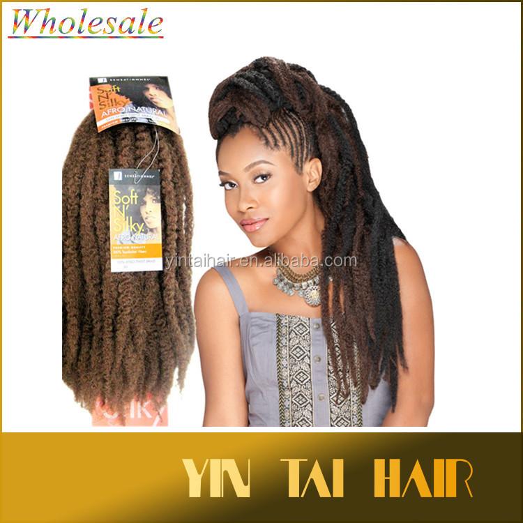 Wholesale Soft N Silky Afro Kinky Twist Braid Kinky Curly Hair ...