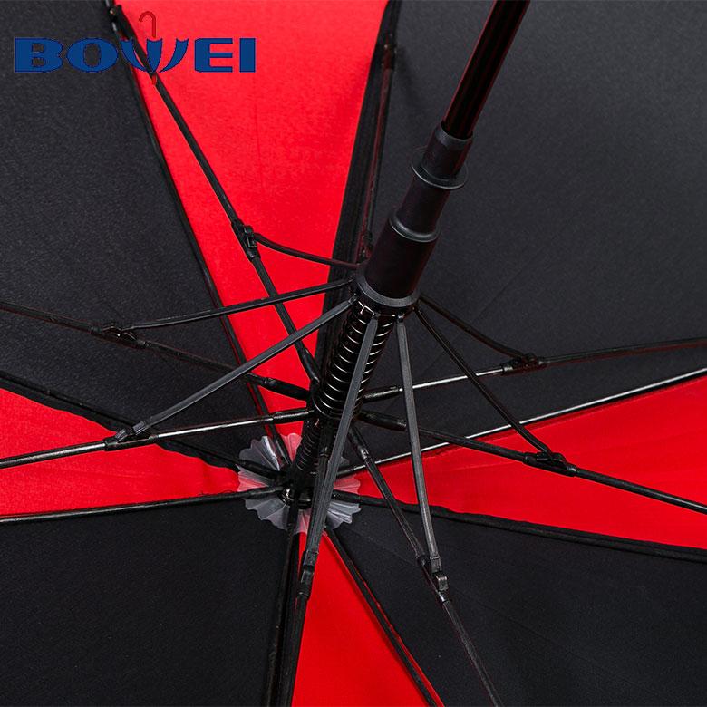 PromotionalColorful Rainbow Golf Umbrella with Custom Logo