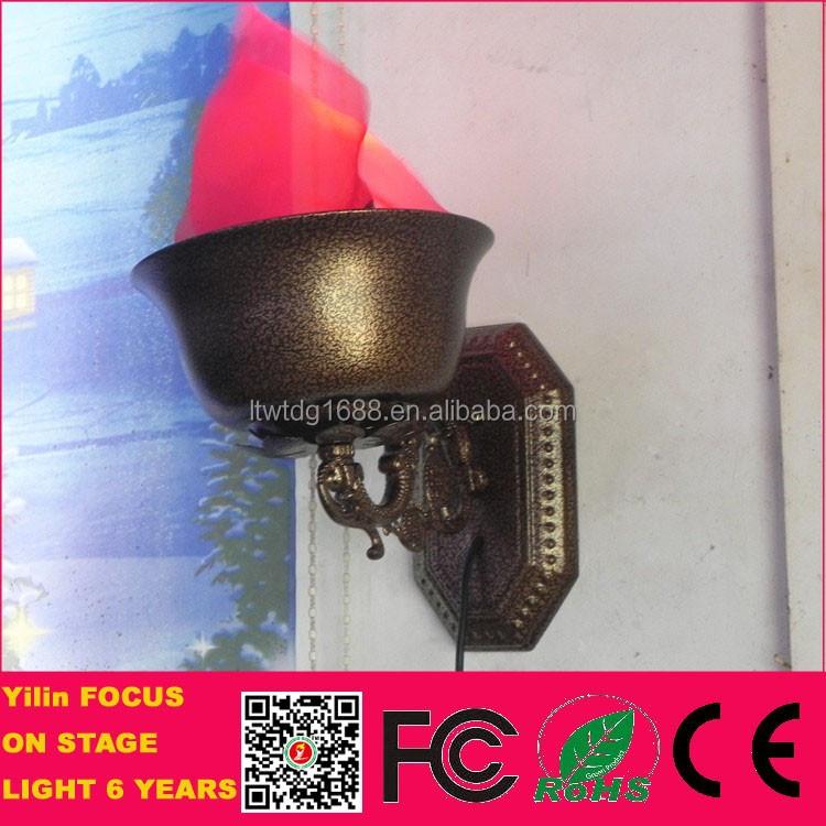 Foshan Yilin 30w Silk Flicker Fake Fire Eternal Flame Lamp