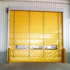 Factory Direct Sale High Speed PVC Roller Shutter Doors Industrial 304 stainless steel Automatic