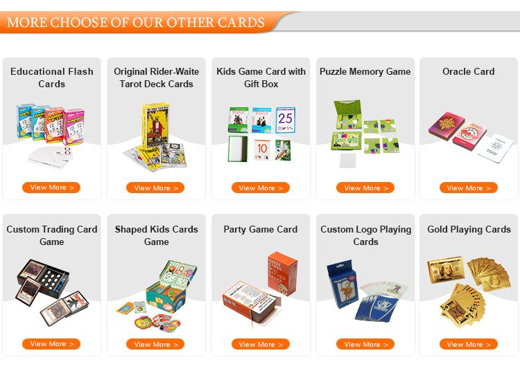 ورق مصنوع حسب الطلب 777 بطاقات للعب