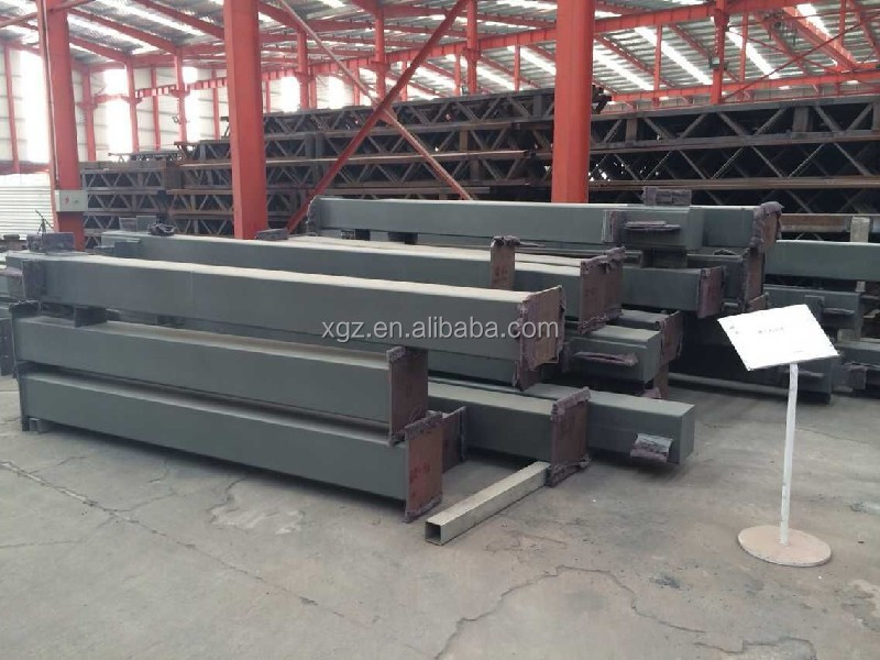 High strength steel structure building material warehouse