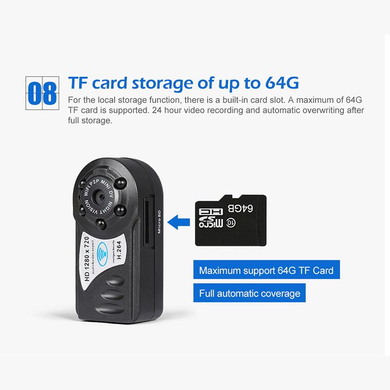 Wifi Ip Remote Surveillance Security Mini Spy Camera Wireless ...