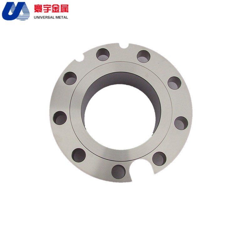 High quality ASME B14.7 titanium weld neck flange used for gas