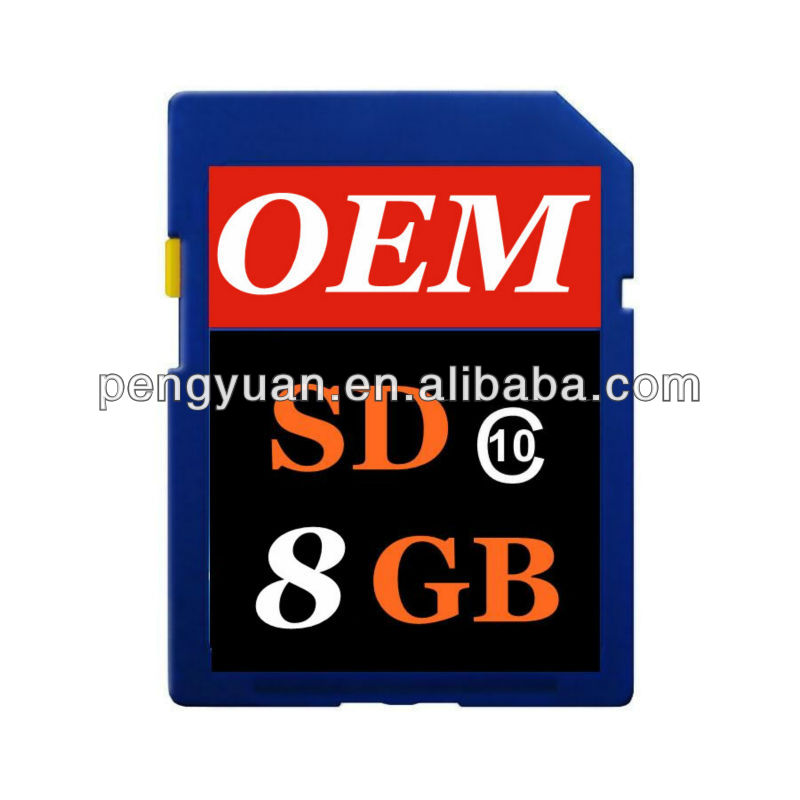 Full capacity High Speed bulk Memory SD cards for camera