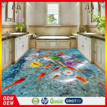 Cheap Price Eco Friendly Flooring Pvc Stickers 3d Floor