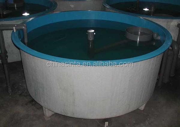 Fish farming tanks buy indoor fish farm frp fish farm for Aquaculture fish tanks