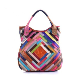 On Clearance Women Multicolor Shoulder Bags Hobo Tote Leather Purse Handbag
