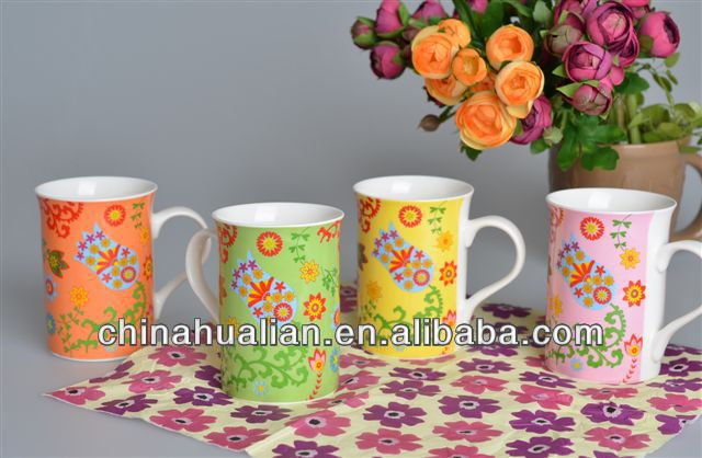 blank coffee mugs wholesale / fine bone china coffee mugs custom printed