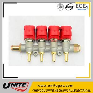 auto gas conversion kits common rail injector lpg cng injector rail
