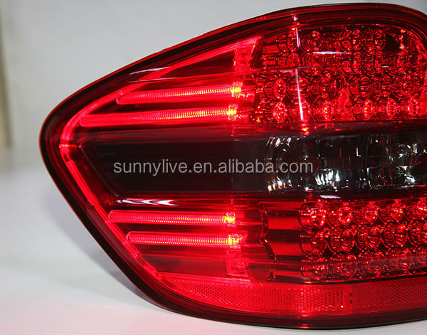 For Mercedes Benz W164 Ml350 Ml500 Led Tail Light Red