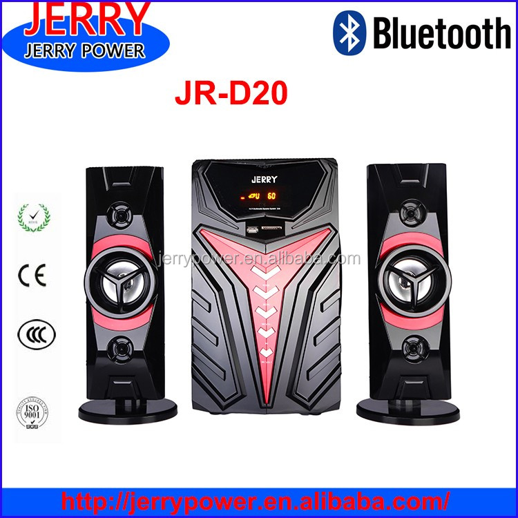JERRY 2.1 speakers with sub woofer and blue tooth