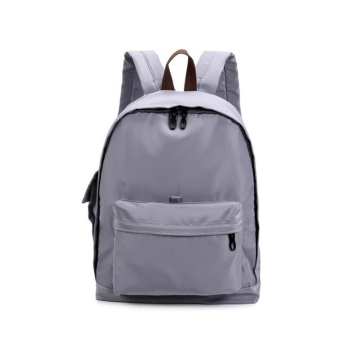 Stylish Plain Travel Backpack Nylon Waterproof Leisure Mini Backpack ... ce27396aebb5d