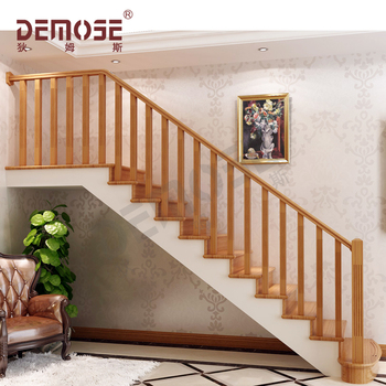 Comppletely Wood Baers Handrail For Stairs Designs
